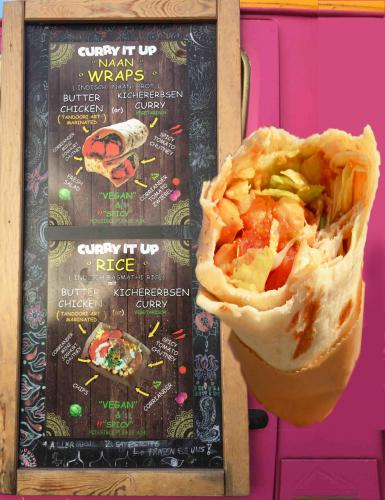 Street Food Wrap Curry it up