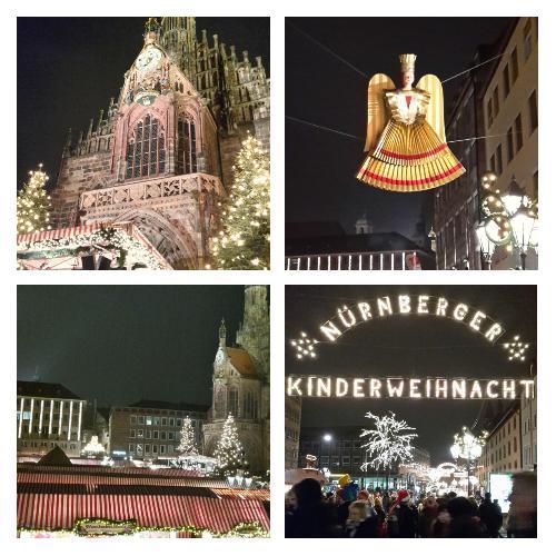 Der berühmte Christkindlesmarkt in Nürnberg